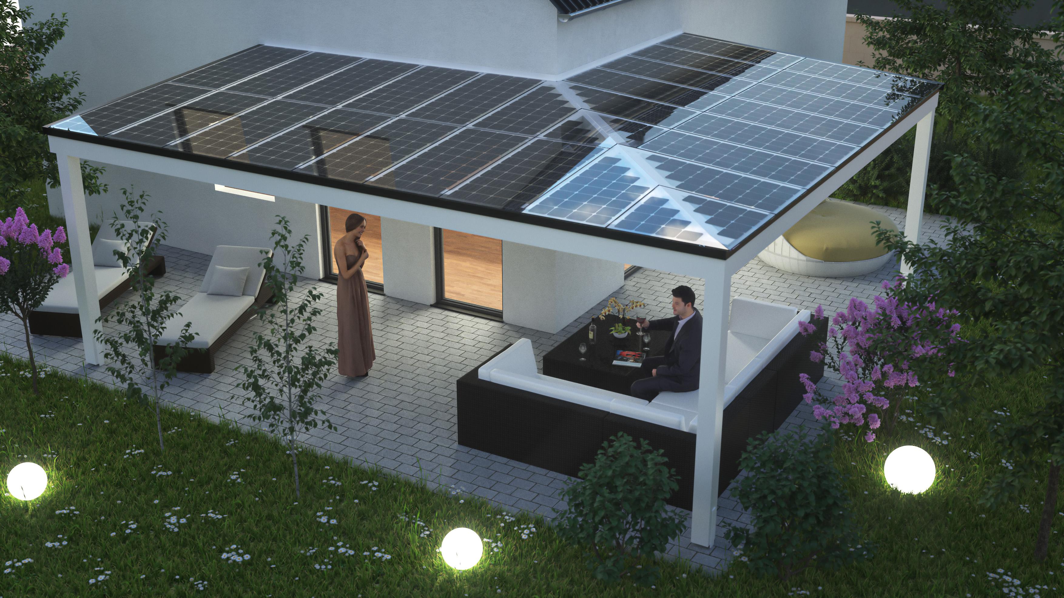 pressematerial solarcarport terrassendach solarcarport. Black Bedroom Furniture Sets. Home Design Ideas